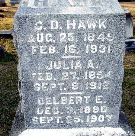 HAWK, C. D. - Johnson County, Iowa | C. D. HAWK