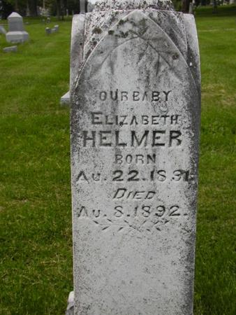 HELMER, ELIZABETH - Johnson County, Iowa | ELIZABETH HELMER