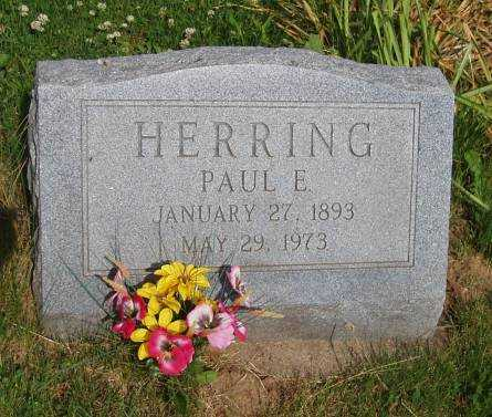 HERRING, PAUL E. - Johnson County, Iowa | PAUL E. HERRING
