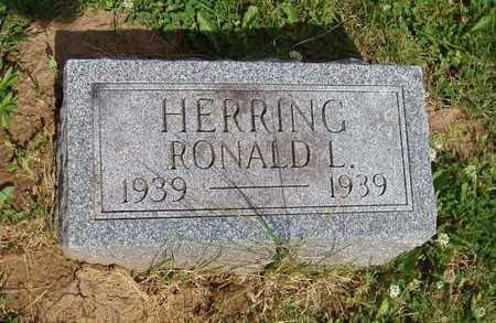 HERRING, RONALD L. - Johnson County, Iowa   RONALD L. HERRING
