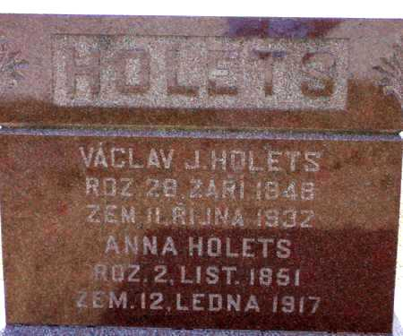 HOLETS, VACLAV (WESLEY) - Johnson County, Iowa | VACLAV (WESLEY) HOLETS