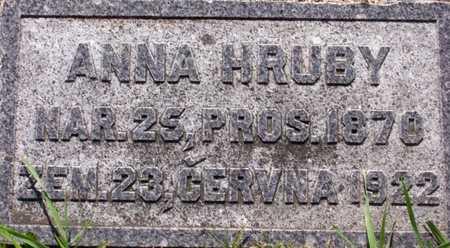 HRUBY, ANNA - Johnson County, Iowa | ANNA HRUBY