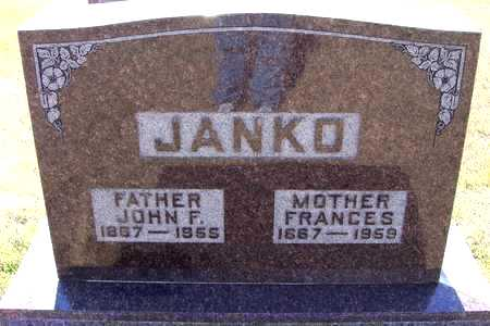 JANKO, JOHN - Johnson County, Iowa | JOHN JANKO