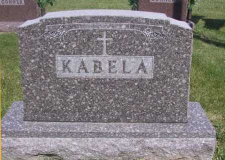 KABELA, FAMILY STONE - Johnson County, Iowa | FAMILY STONE KABELA