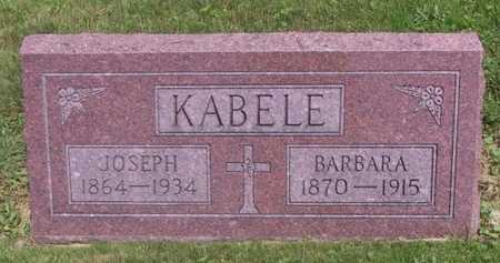 KABELE, JOSEPH - Johnson County, Iowa | JOSEPH KABELE