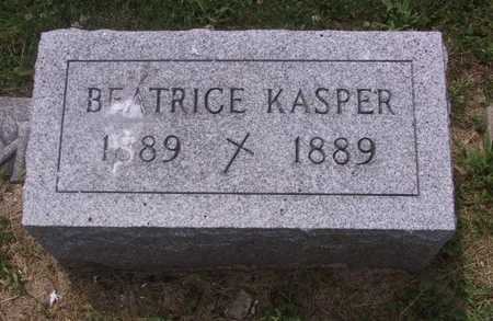 KASPER, BEATRICE - Johnson County, Iowa | BEATRICE KASPER