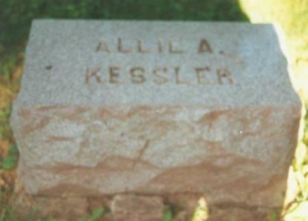KESSLER, ALLIE A. - Johnson County, Iowa   ALLIE A. KESSLER