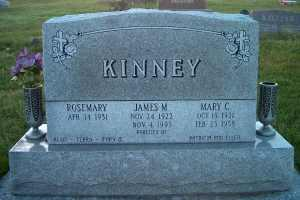 KINNEY, JAMES M. - Johnson County, Iowa | JAMES M. KINNEY