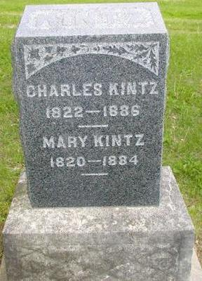 KINTZ, CHARLES - Johnson County, Iowa | CHARLES KINTZ