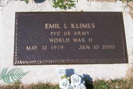 KLIMES, EMIL - Johnson County, Iowa | EMIL KLIMES
