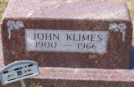 KLIMES, JOHN - Johnson County, Iowa | JOHN KLIMES
