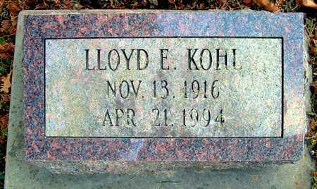 KOHL, LLOYD E - Johnson County, Iowa | LLOYD E KOHL