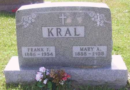 KRAL, MARY A - Johnson County, Iowa | MARY A KRAL