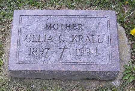 KRALL, CELIA C. - Johnson County, Iowa | CELIA C. KRALL