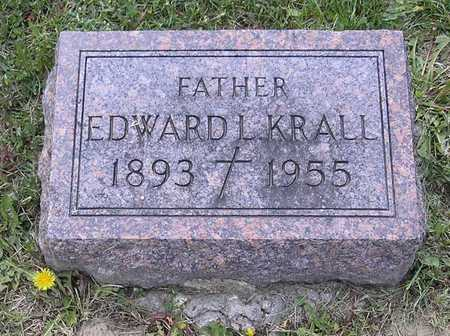 KRALL, EDWARD L. - Johnson County, Iowa | EDWARD L. KRALL