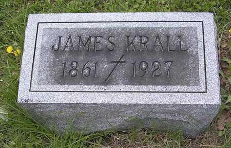 KRALL, JAMES - Johnson County, Iowa | JAMES KRALL