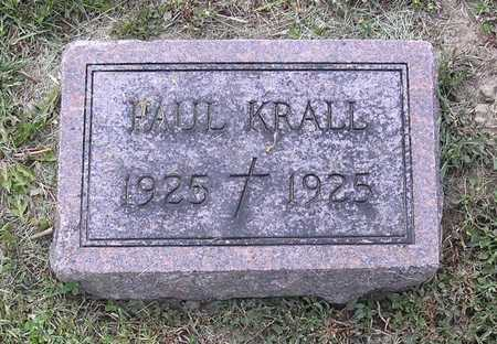 KRALL, PAUL - Johnson County, Iowa | PAUL KRALL