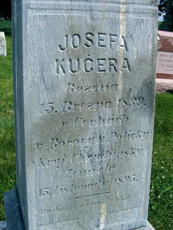 KUCERA, JOSEFA - Johnson County, Iowa | JOSEFA KUCERA