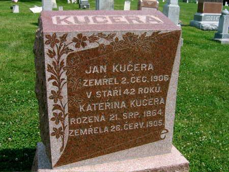 KUCERA, JAN - Johnson County, Iowa | JAN KUCERA