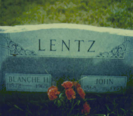 LENTZ, JOHN - Johnson County, Iowa | JOHN LENTZ