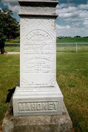 MAHONEY, JOHN - Johnson County, Iowa | JOHN MAHONEY