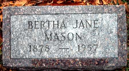 MASON, BERTHA JANE - Johnson County, Iowa | BERTHA JANE MASON