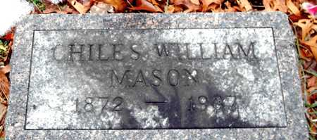 MASON, CHILES WILLIAM - Johnson County, Iowa | CHILES WILLIAM MASON