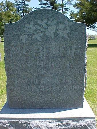 MCBRIDE, RACHEL - Johnson County, Iowa | RACHEL MCBRIDE