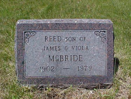 MCBRIDE, REED - Johnson County, Iowa | REED MCBRIDE