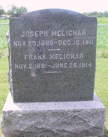 MELICHAR, FRANK - Johnson County, Iowa | FRANK MELICHAR