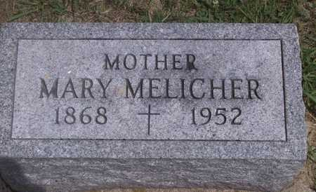 MELICHER, MARY - Johnson County, Iowa | MARY MELICHER