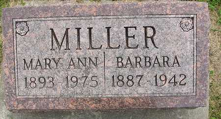 MILLER, MARY ANN - Johnson County, Iowa | MARY ANN MILLER