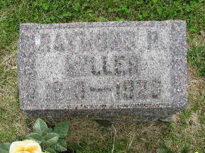 MILLER, RAYMOND - Johnson County, Iowa | RAYMOND MILLER