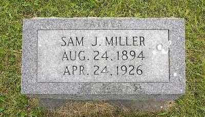 MILLER, SAMUEL J. - Johnson County, Iowa | SAMUEL J. MILLER