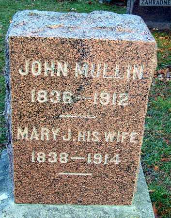 MULLIN, MARY J - Johnson County, Iowa | MARY J MULLIN