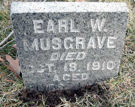 MUSGRAVE, EARL W - Johnson County, Iowa | EARL W MUSGRAVE
