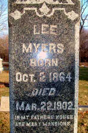 MYERS, LEE - Johnson County, Iowa | LEE MYERS