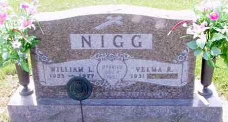 NIGG, WILLIAM L - Johnson County, Iowa | WILLIAM L NIGG