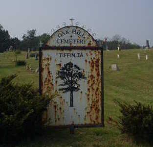 OAK HILL (TIFFIN), CEMETERY - Johnson County, Iowa   CEMETERY OAK HILL (TIFFIN)