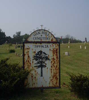 OAK HILL (TIFFIN), CEMETERY - Johnson County, Iowa | CEMETERY OAK HILL (TIFFIN)