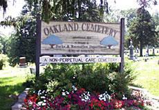 OAKLAND, CEMETERY - Johnson County, Iowa | CEMETERY OAKLAND