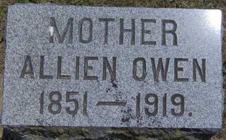 OWEN, ALLIEN - Johnson County, Iowa | ALLIEN OWEN