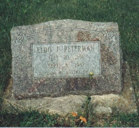 PETERMAN, ELDO - Johnson County, Iowa | ELDO PETERMAN