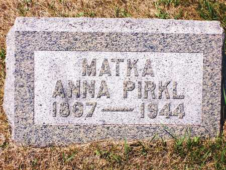 PIRKL, ANNA - Johnson County, Iowa | ANNA PIRKL