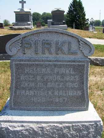 PIRKL, HELENA - Johnson County, Iowa | HELENA PIRKL