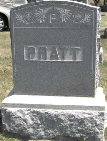 PRATT, FAMILY STONE - Johnson County, Iowa | FAMILY STONE PRATT
