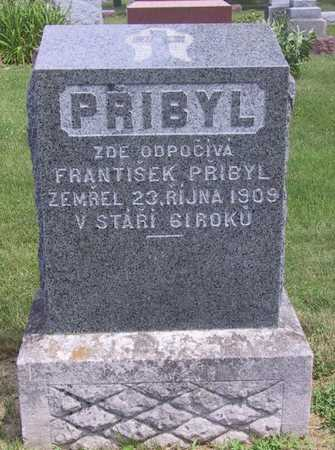 PRIBYL, FRANTISEK - Johnson County, Iowa | FRANTISEK PRIBYL
