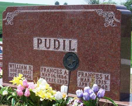 PUDIL, FRANCES - Johnson County, Iowa | FRANCES PUDIL