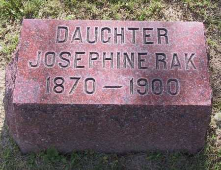 RAK, JOSEPHINE - Johnson County, Iowa | JOSEPHINE RAK
