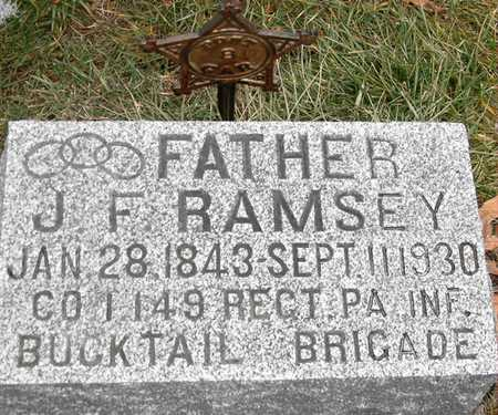 RAMSEY, JOHN F - Johnson County, Iowa | JOHN F RAMSEY